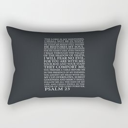 Psalm 23 Rectangular Pillow