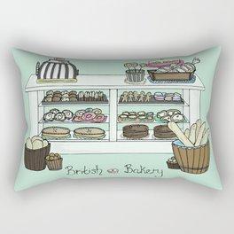 British Bakery Rectangular Pillow
