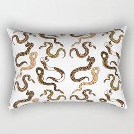 Plenty of Pythons - Light Rectangular Pillow