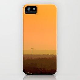Sunrise Hills iPhone Case