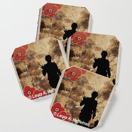 Soldier Silhouette Coaster