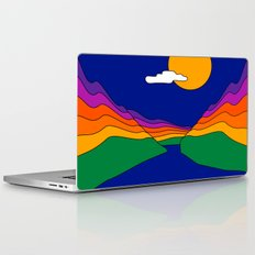 Rainbow Ravine Laptop & iPad Skin