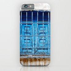 Blue window iPhone 6s Slim Case