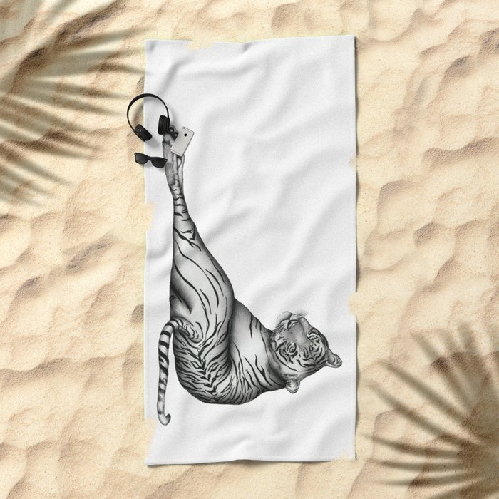 The Hunter Beach Towel