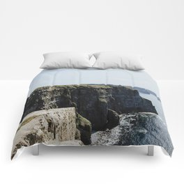 The Cliffs of Moher II Comforters