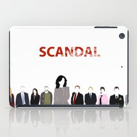scandal iPad Cases featuring Scandal Minimalism by Bel17