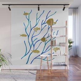 Sea Plants Wall Mural