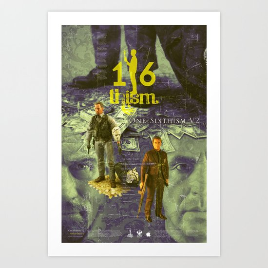 One Sixth Ism Vol.2-1 Art Print