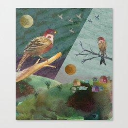 Day/Night Canvas Print