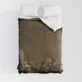 Adriaan de Lelie - The Drawing Gallery of the Felix Meritis Society Comforters