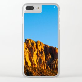 The Watchman. Zion National Park. Utah. USA Clear iPhone Case
