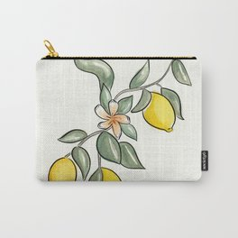 Lemon Branch Carry-All Pouch