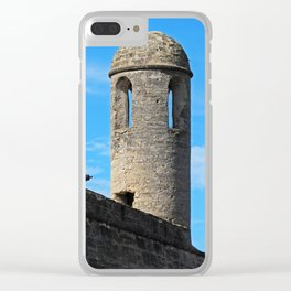 Chronicle Concealed Clear iPhone Case