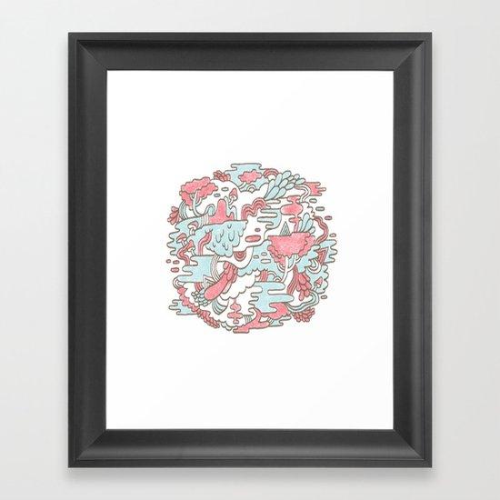 Swamp Jam Framed Art Print