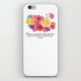 Lifetchen Inspirational Phonecase- Flores iPhone Skin