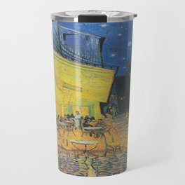 Vincent can Gogh's Cafe Terrace at Night Travel Mug