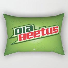Diabeetus Rectangular Pillow