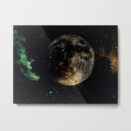 Planet Shift Metal Print