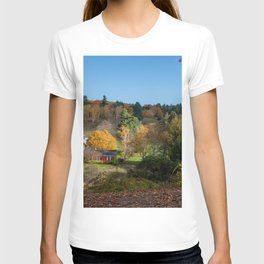 Sleepy Hollow Farm Vermont Panorama T-shirt