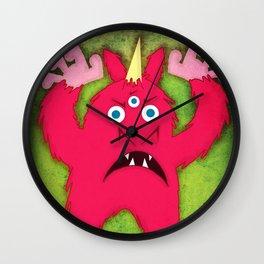 Monster Unicorn Wall Clock