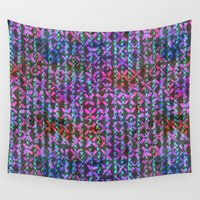 amelie Wall Tapestries featuring Amelie #3b by Schatzi Brown