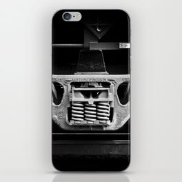 have oil will travel iPhone Skin