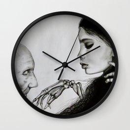 The Final Kiss Wall Clock