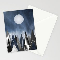 Midnight Mountains Stationery Cards