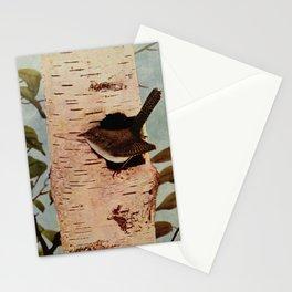 Neltje Blanchan - Bird Neighbours (1908) - House Wren Stationery Cards