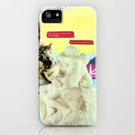 Chaos and Control iPhone Case