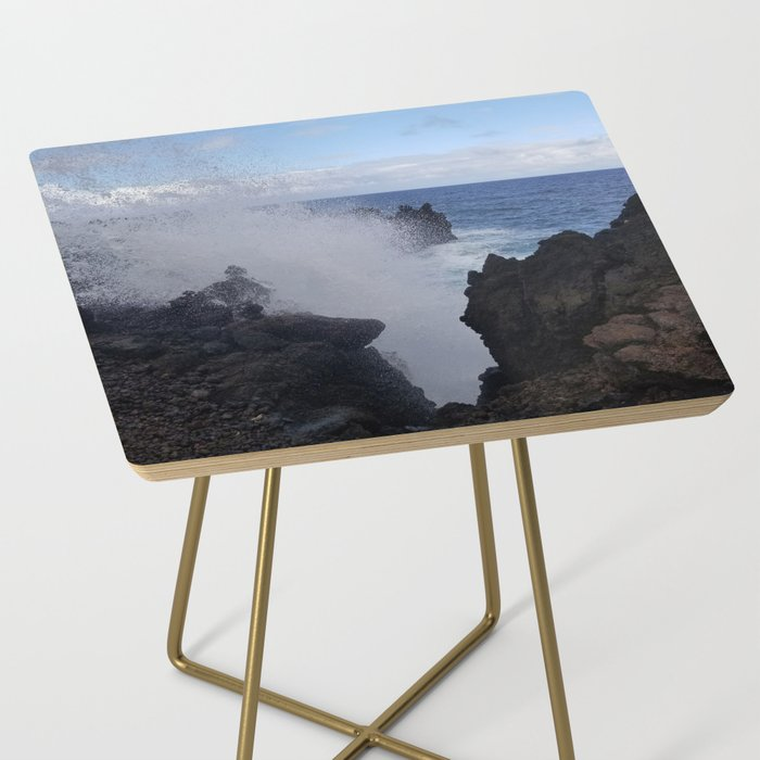 Ocean Explosion Side Table