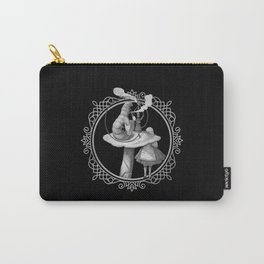 Alice and the Smoking Caterpillar - Alice in Wonderland Carry-All Pouch