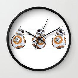 3 bb8 Wall Clock