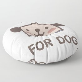 Vote For Dog Floor Pillow