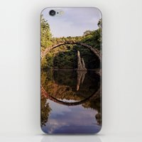 geology iPhone & iPod Skins featuring Mystical stone arch by UtArt