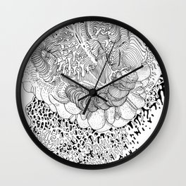 Rotting in Essence #2 Wall Clock