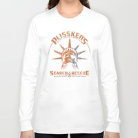 discount Long Sleeve T-shirts featuring Snake Plissken's Search & Rescue Pty. Ltd. by 6amcrisis
