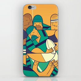 Rugby iPhone Skin