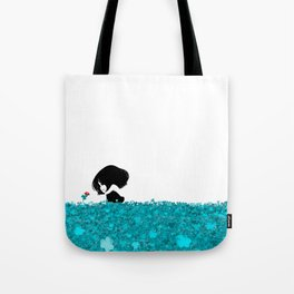 Clover and Coccinelle Tote Bag