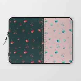 Rainbow cherries colour blocking Laptop Sleeve