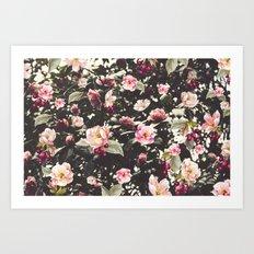 Beat Around The Rosebush Art Print