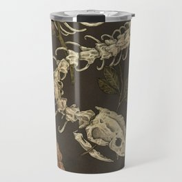 Snake Skeleton Travel Mug