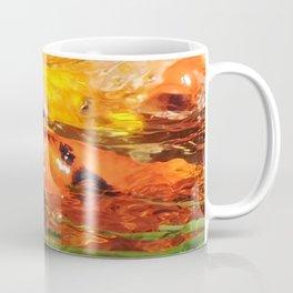 TEXTURES: Koi Swarm Coffee Mug