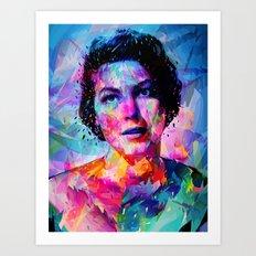 Ava Gardner Art Print