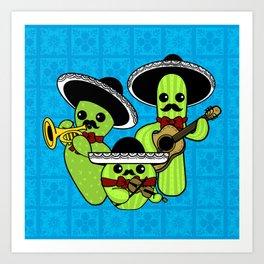 Los Nopalitos Art Print