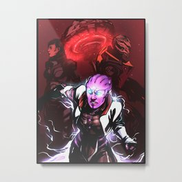 Take Back Omega Metal Print