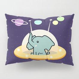 Astronaut elephant: Galaxy mission Pillow Sham