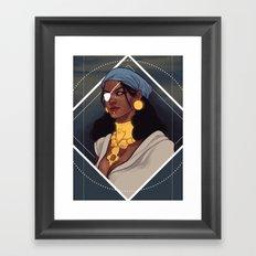 Isabela Dragon Age Framed Art Print