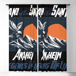 Land of the saints Anaheim Legends of life mask Eagles Blackout Curtain