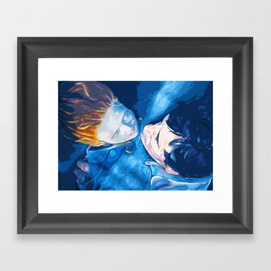 Caught by the light Framed Art Print